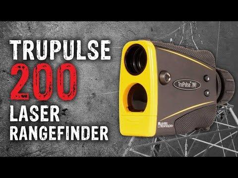 TruPulse 200 Laser Rangefinder YouTube