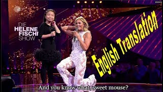 Download lagu Celine TamHelene Fischer You Raise Me Up Interview with English subtitles MP3
