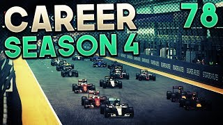 F1 2016 Career Mode Part 78: DISASTER AT SINGAPORE
