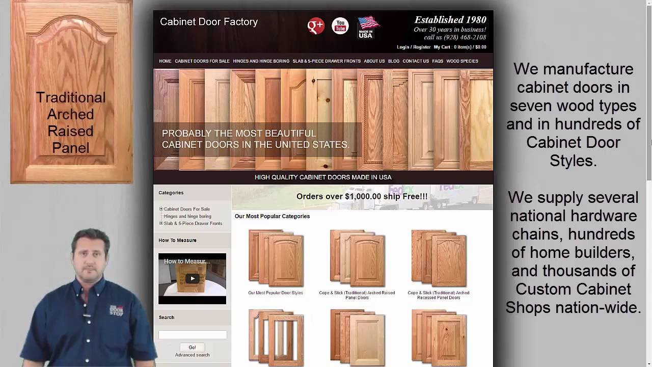 How To Buy Unfinished Kitchen Cabinet Doors Youtube