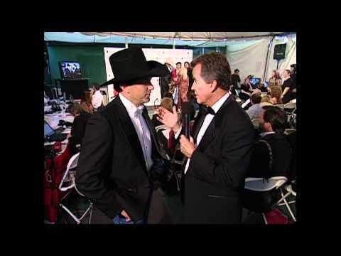 Bob Pickett - TBT Dick Clark speaks with George Strait