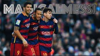 Msn - messi, suárez and neymar jr. - the deadly trio - 2015-2016 - hd