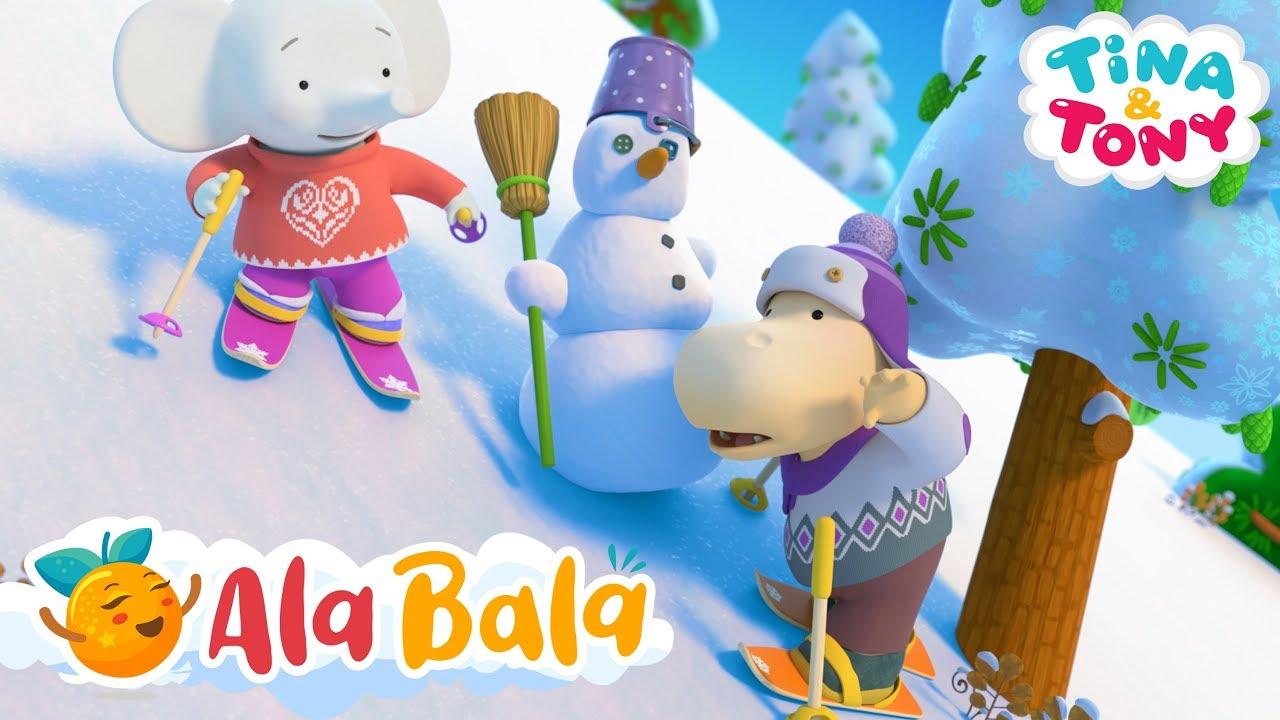 Poveste de iarnă (Ep 22) Tina și Tony - Desene animate de iarnă pentru copii | AlaBala