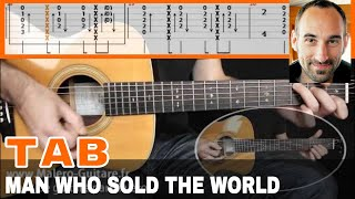 The Man Who Sold The World Guitar Tab