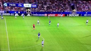 U21 EM/ Ital. Fans singen Fussballmafia DFB - Deutschland - Italien 24.6.17 F