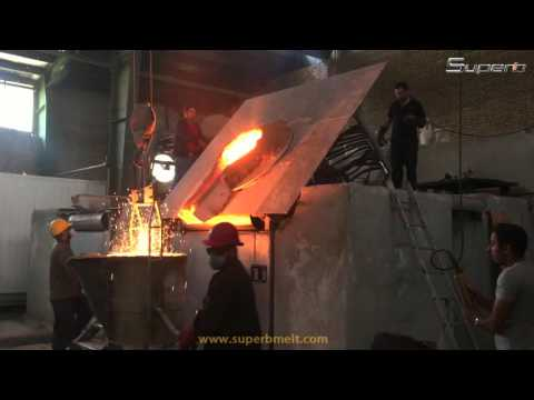 induction furnace in foundry