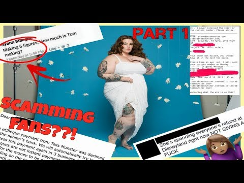 Tess Holliday Scams Fans & Gets Away With It?! 😱😱