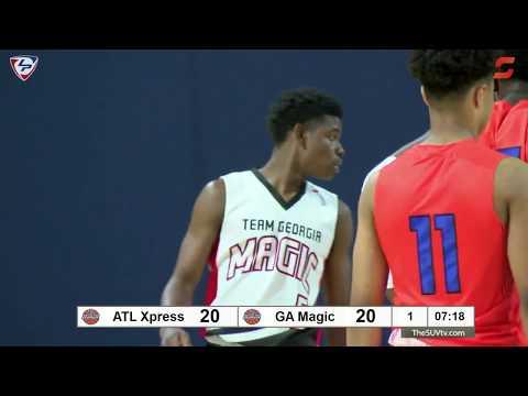 "LakePoint Hoops - Battle For Georgia (17U Qtrfinals): ""Antman"" & Atlanta Xpress vs. Team GA Magic"