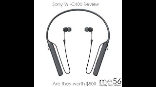 Sony WI-C400 Bluetooth Earbuds Review