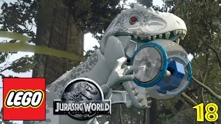 "LEGO JURASSIC WORLD Gameplay Walkthrough Part 18 - ""DINOSAUR HAMSTER TUBES!!!"" (1080p HD PC)"