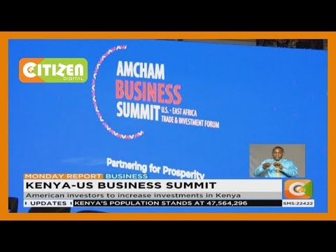 American Chamber Of Commerce Holds Business Summit In Kenya