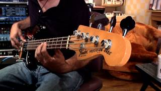 Bass Distortion Pedal Demo Soundblox 2 OFD Bass MicroModeler