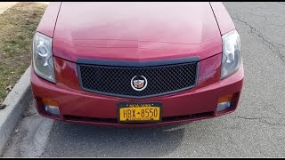 Video Replace the grille with a black mesh grille on my Cadillac CTS download MP3, 3GP, MP4, WEBM, AVI, FLV Juli 2018