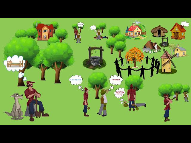 Kids - The Lumberjack and Satan  - Islam