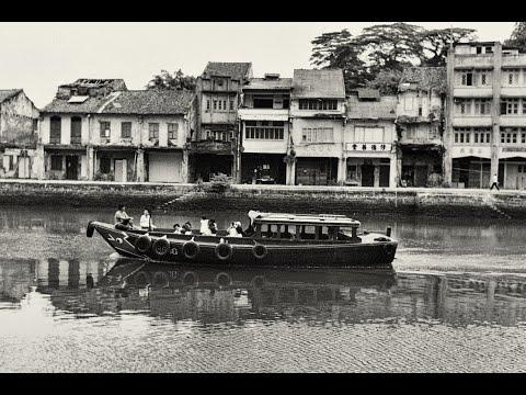 Old Clarke Quay Singapore 沉封的記憶 舊克拉碼頭 新加坡拾趣 1995 年