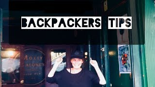 5 Travel Tips For Backpackers
