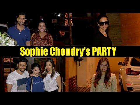 Malaika Arora & Neha Dhupia ATTEND Sophie Choudry's PARTY with Dia Mirza & Soha Ali Khan