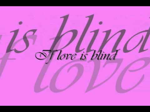 If Love Is Blind By Tiffany
