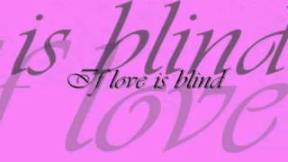 Watch Tiffany If Love Is Blind video