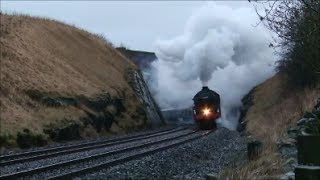 45699 battles up Shap on The WCME  8/2/14.