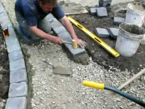 Roman Paver Edging In Charcoal