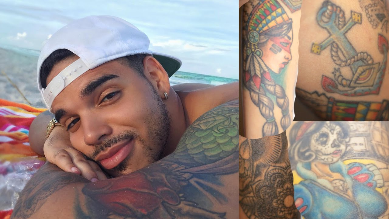 My Tattoos And Their Meanings   TheBrandonLeeCook - YouTube