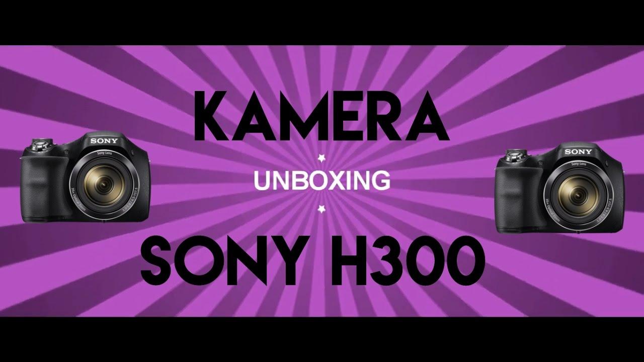 Sony Cyber Shot Dsc H300 Digital Camera Resmi 201mp 35x Prosummer Garansi Unboxing Optical Zoom