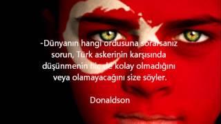 Türkler Hakkındaki Sözler ve Türkiye Gerçeği