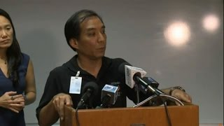 DOH press conference on hepatitis A outbreak