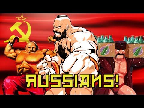 Русские персонажи в олдскул-играх