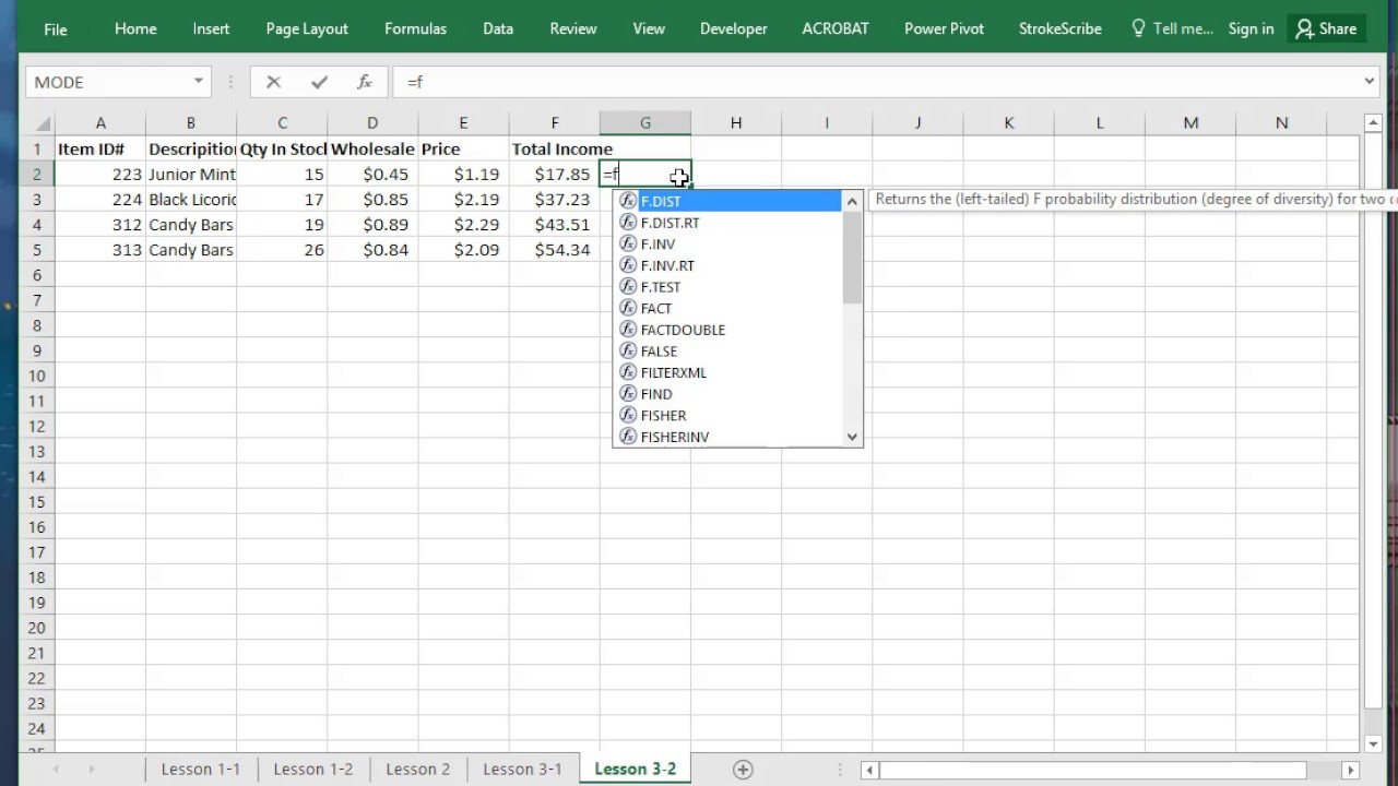 How to add, subtract, multiply, divide, sum & average in Excel