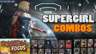 Injustice 2 Supergirl Combos - Tips & Tricks
