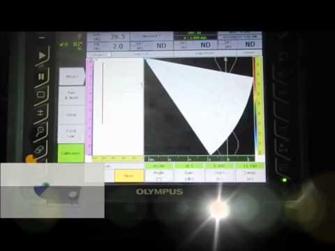 Phased Array UT Calibration Velocity