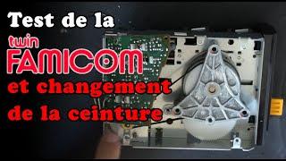 Twin Famicom : Test et changement de la ceinture