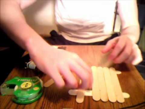 How To Make A Door Knob Hanger - YouTube