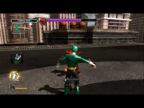 Power Rangers Super Samurai, Xbox 360 Full Playthrough with Kinect