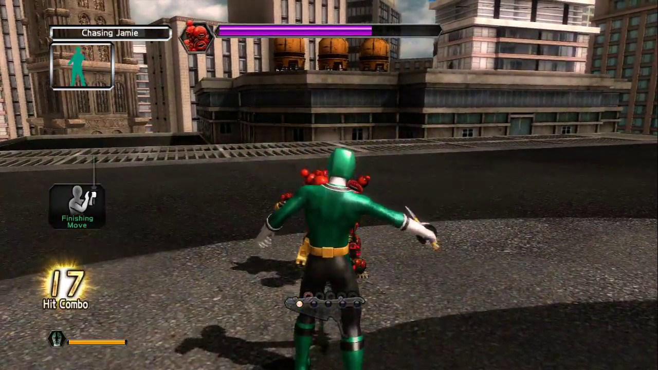 Power Rangers Super Samurai Xbox 360 Full Playthrough With Kinect