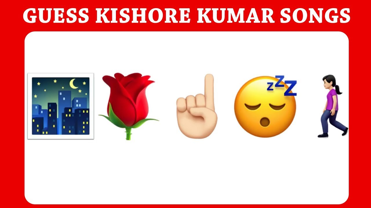 Guess Kishore Kumar Songs 25 Old Hindi Hit Songs Emoji Challenge Brain Puzzle Youtube Guess the song by emoji challenge #6 | bollywood/hindi songs challenge video 2020! guess kishore kumar songs 25 old hindi hit songs emoji challenge brain puzzle