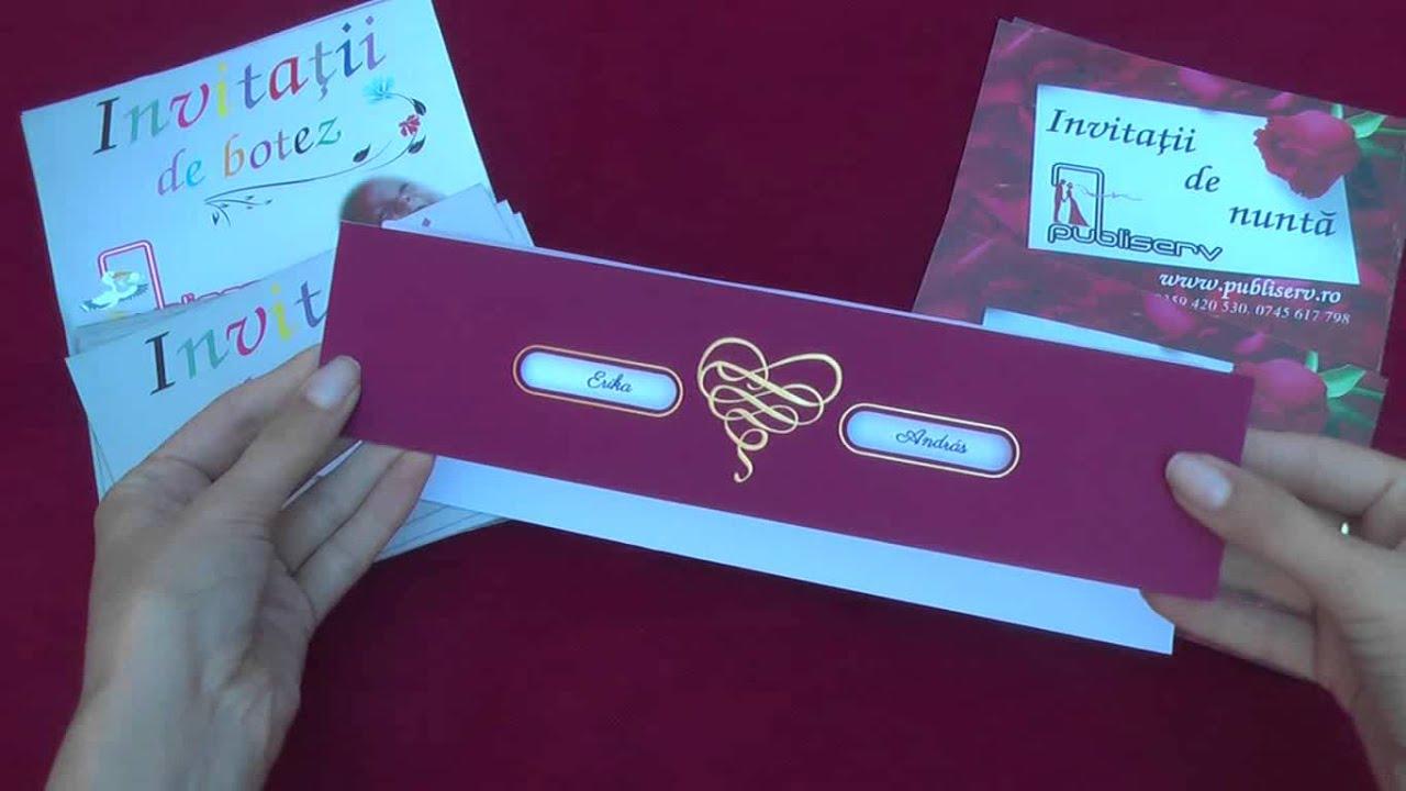 Invitatii De Nunta Clasice 50653 Code Wwwpubliservro Wedding