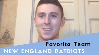 Supporting the New England Patriots thumbnail picture.