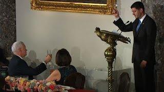 Paul Ryan toasts to Vice President Pence