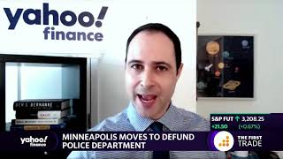 Minneapolis moves to defund police department