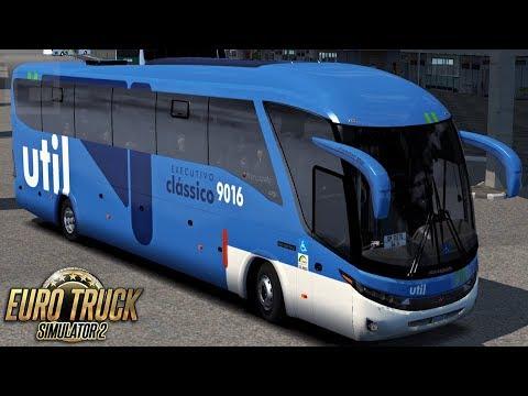 Euro Truck Simulator 2 Bus | Util - Rio/São Paulo - Mapa RBR