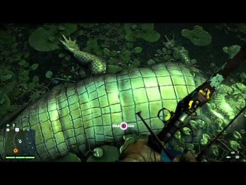 Far Cry 4 - Crocodile/Alligator hunting locations!!! Crocs 101 where have you been Mr. Croc