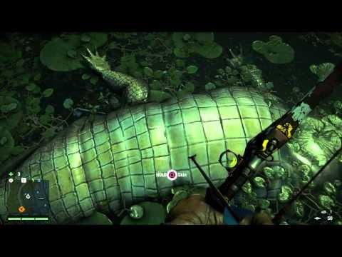 Far Cry 4 - Elephant vs Crocodile | Doovi
