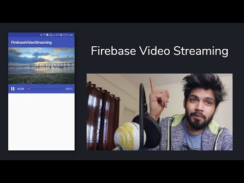 Android Firebase Video Streaming App - Android Studio Tutorial