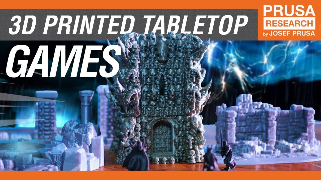 3D print your own tabletop game and plenty of cool accessories
