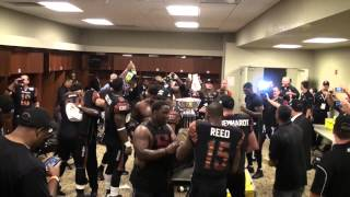 Arena Bowl 26, Arizona Rattlers Post Game Locker Room, 8-17-2013