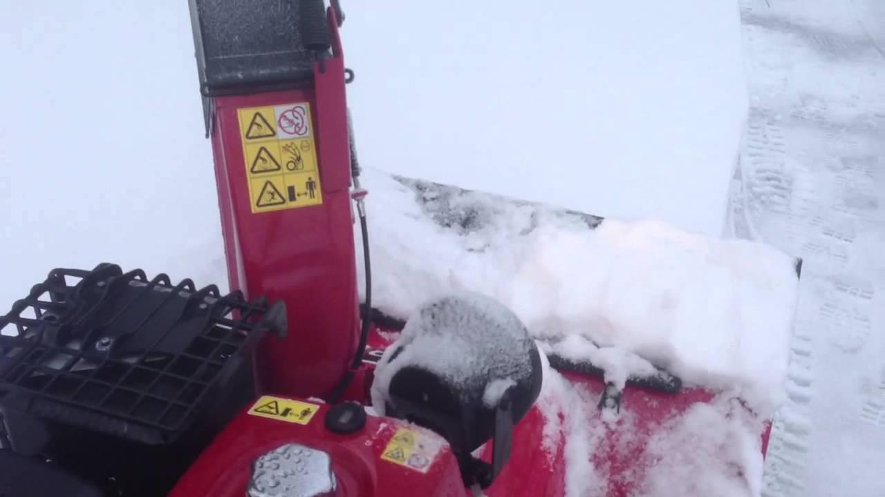 Honda HSS 1380 Snowblower - YouTube