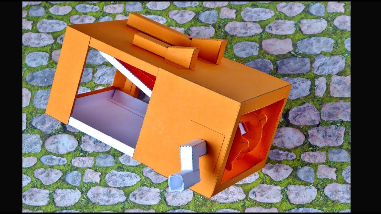 Papercraft Paper model Twitterer